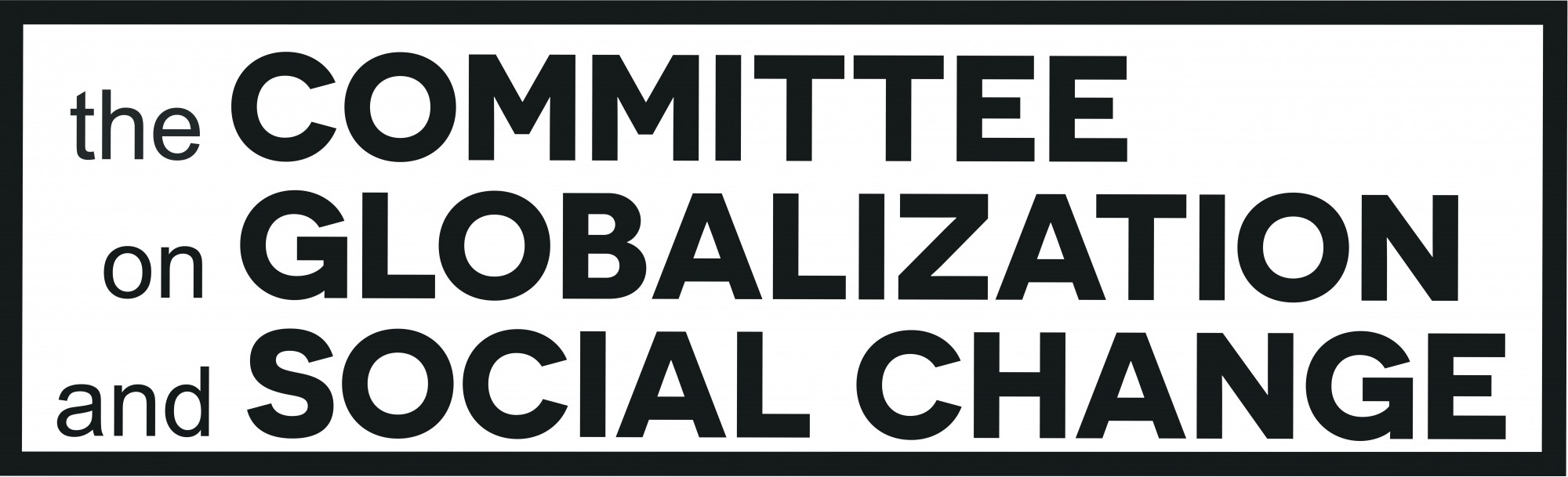 Committee on Globalization and Social Change
