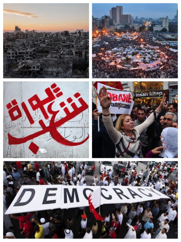 Avenues of Social and Political Change: Five Years of Contention in the Middle East and North Africa